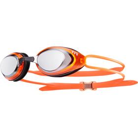 TYR Blackhawk Racing Polarized Googles Silver/Orange